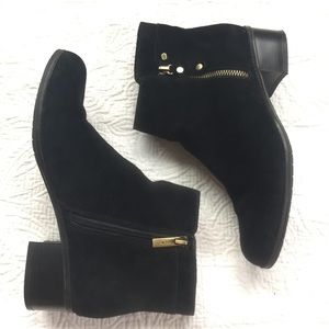 Bandolino Suede Carrington Ankle Boot